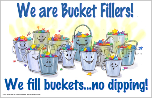 Bucket Filler Coloring Page Bucket Fillers